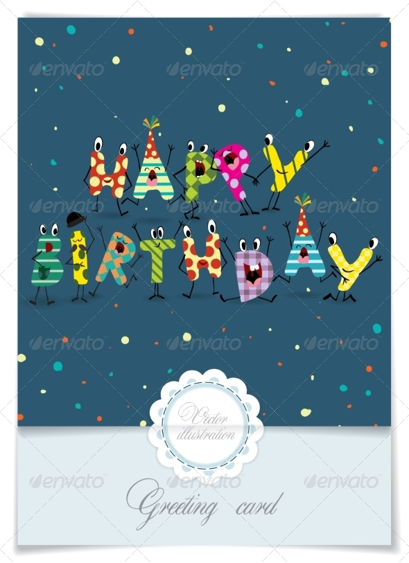 GraphicRiver Greeting Card Design 8473372