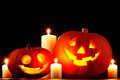 Halloween pumpkins with candles - PhotoDune Item for Sale