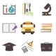 Back to School Icons Set - GraphicRiver Item for Sale