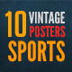 10 Vintage Posters Sports - GraphicRiver Item for Sale
