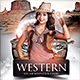 Western Theme Night - GraphicRiver Item for Sale