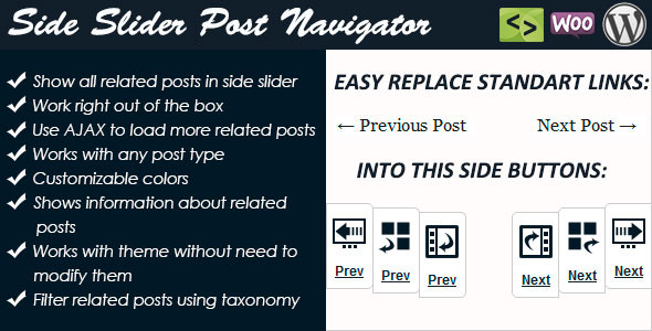 CodeCanyon Side Slider Post Navigator 8114823