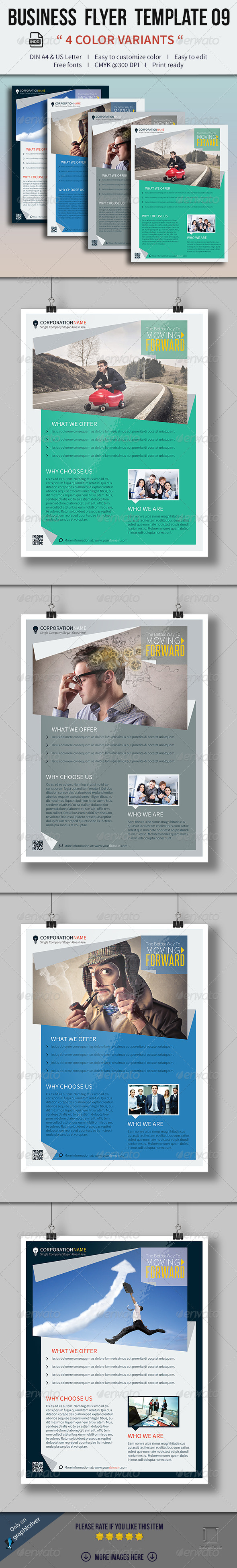 GraphicRiver Business Flyer Template 09 8473869