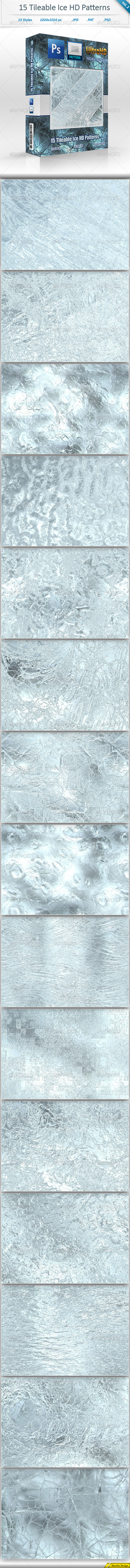 GraphicRiver Ice Tileable Pattern Backgrounds vol 2 8473913