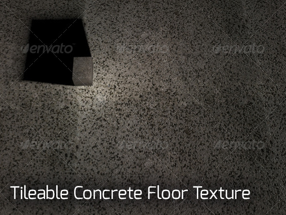 Tileable Stone Concrete Floor Texture - 3DOcean Item for Sale