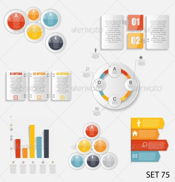 GraphicRiver Collection of Infographic Templates for Business 8474936