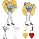 Jack of Hearts Musician - GraphicRiver Item for Sale