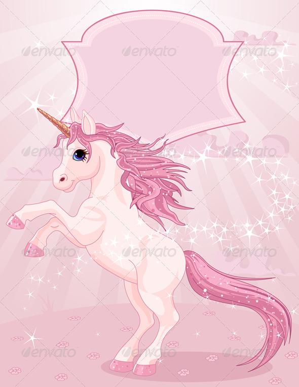 GraphicRiver Magic Unicorn 8485308