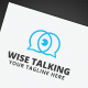 Wise Talking Logo - GraphicRiver Item for Sale