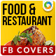 Restaurant & Food Facebook Cover Page - GraphicRiver Item for Sale