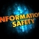 Information Safety Concept on Digital Background. - PhotoDune Item for Sale