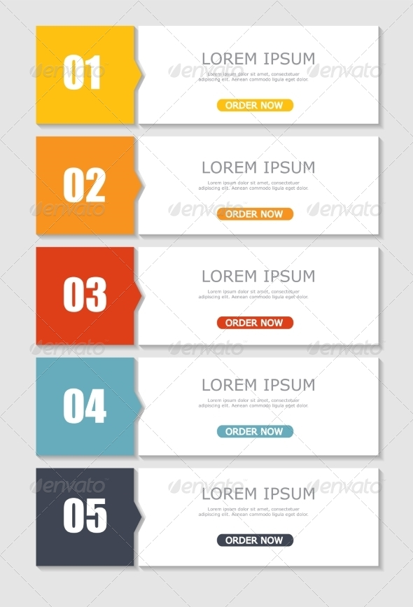 GraphicRiver Infographic Templates for Business Vector Illustration 8486236