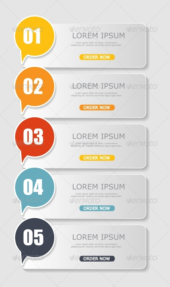 GraphicRiver Infographic Templates for Business Vector Illustration 8486238