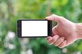 smart phone in hand - PhotoDune Item for Sale