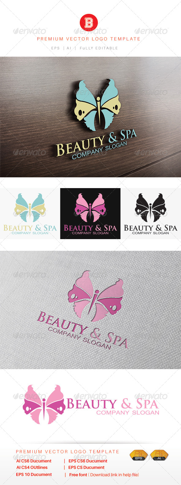 GraphicRiver Beauty & Spa 8486618