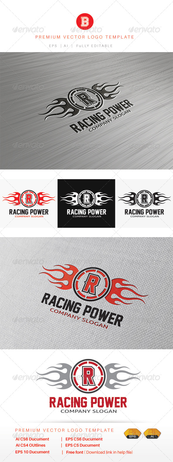 GraphicRiver Racing Power 8486701