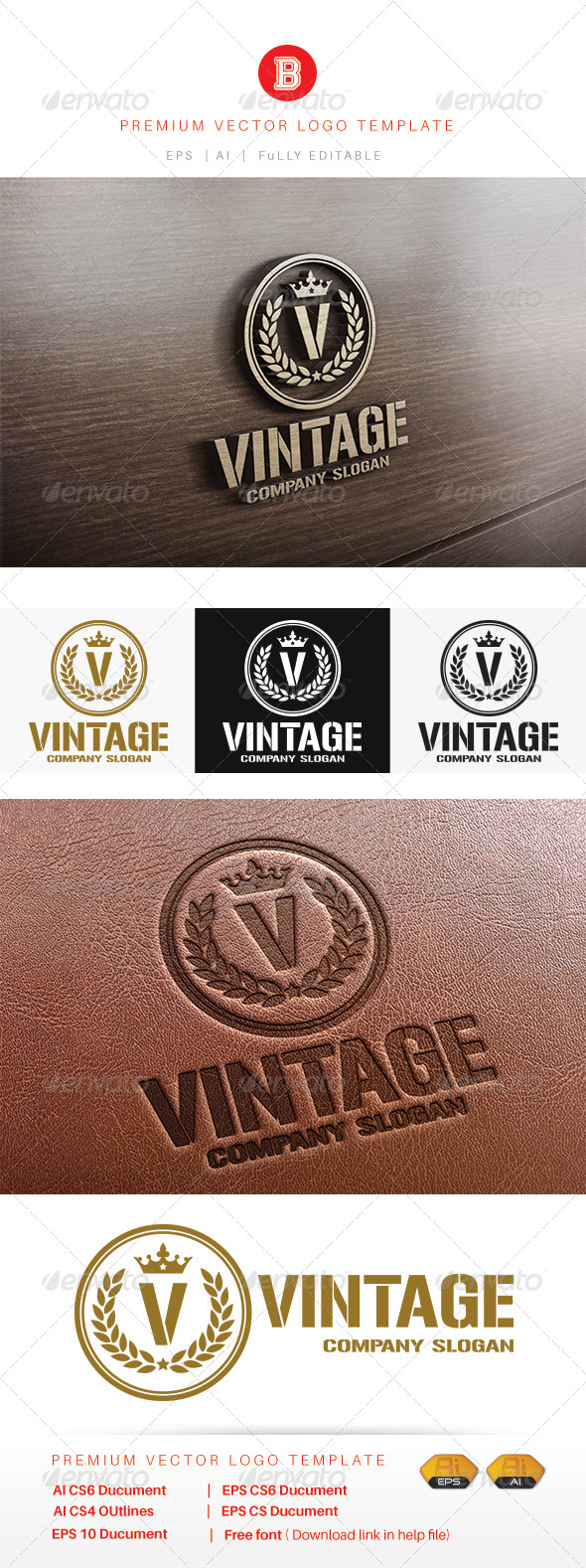 GraphicRiver Vintage 8486710