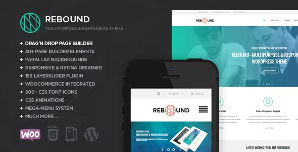 Rebound - Responsive Multipurpose Retina Theme - Business Corporate