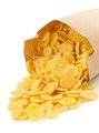 cereal corn flakes in paper bag - PhotoDune Item for Sale