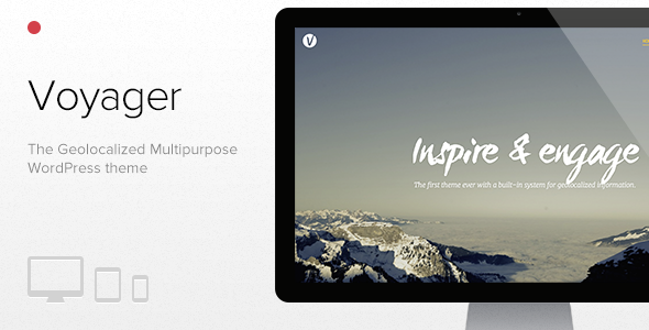 ThemeForest Voyager The Geolocalized Multipurpose WP theme 8434194