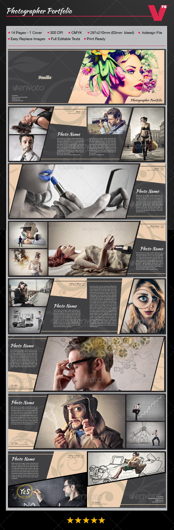 GraphicRiver Photographer Portfolio 8471789
