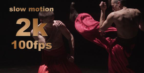 Cossack Artistic War Dance Slow Motion 03