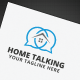 Home Talking Logo - GraphicRiver Item for Sale