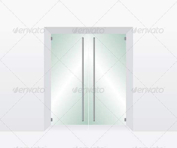 Glass Transparent Door