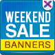 Weekend Sale Banner  - GraphicRiver Item for Sale