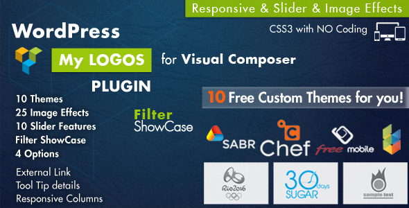 Logos Showcase for Visual Composer WordPress - CodeCanyon Item for Sale