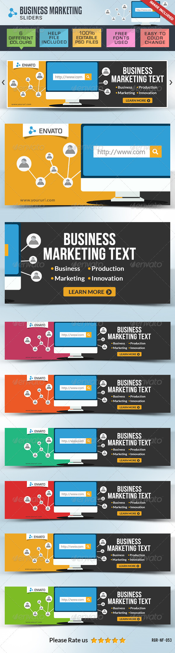 Business & Marketing Slider