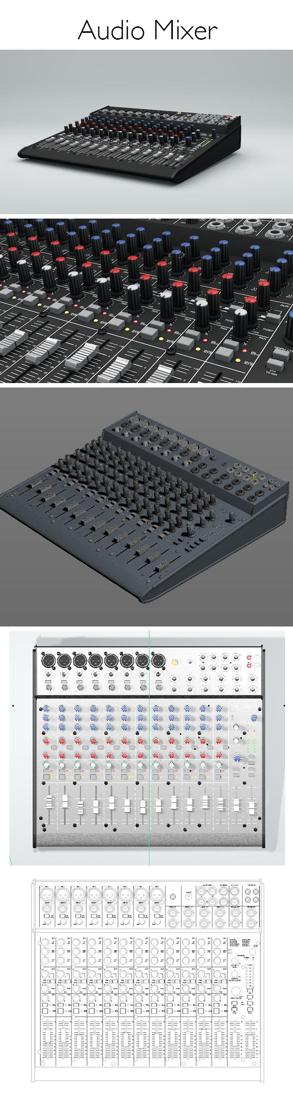 3DOcean Audiomixer 8487805