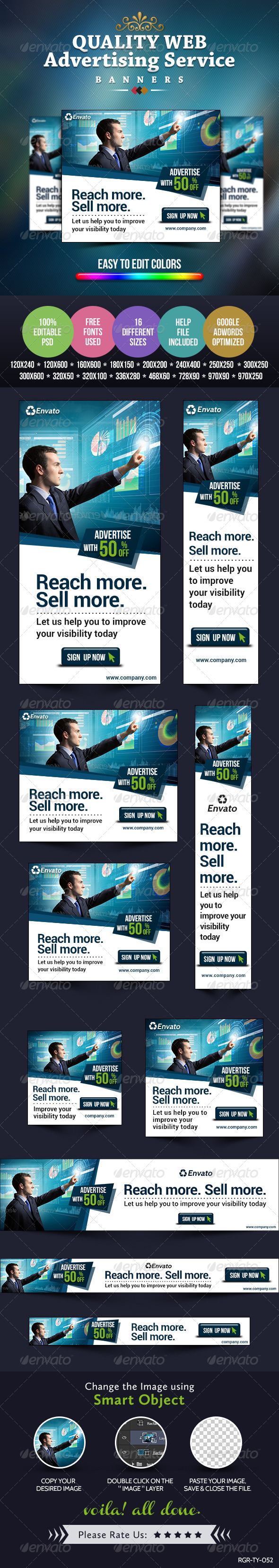 GraphicRiver Advertise Here Banners 8487962