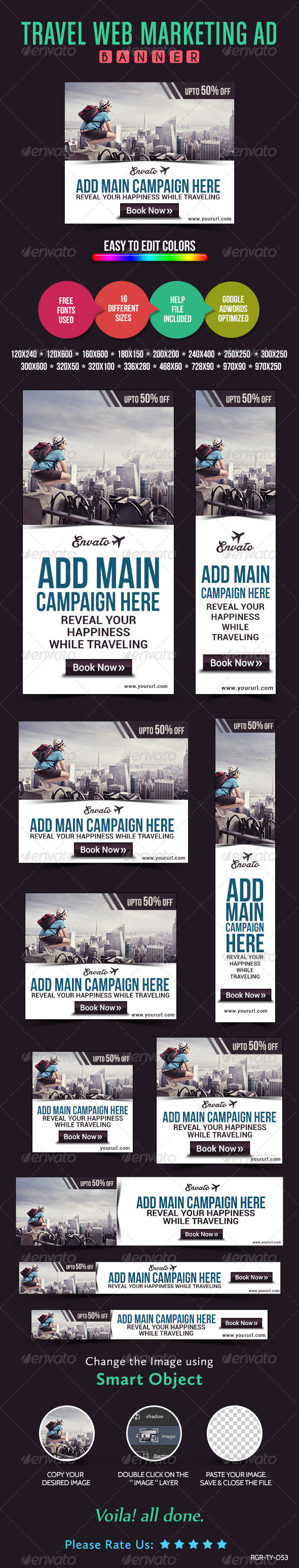 GraphicRiver Travel Banners 8487975
