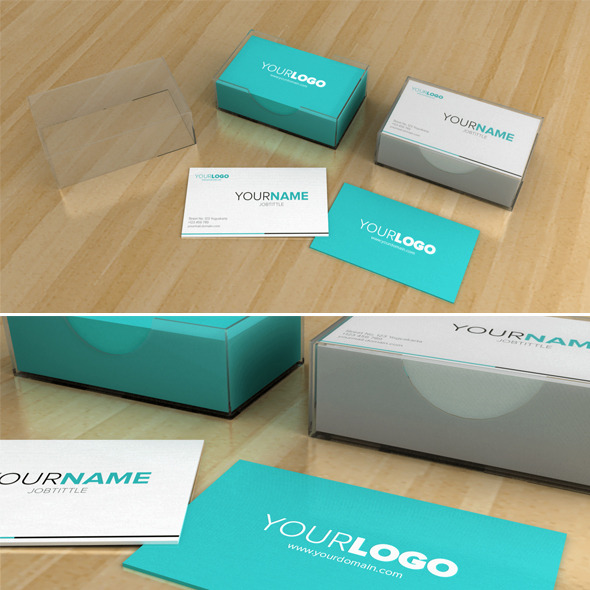 3DOcean Business Card Box 8487974