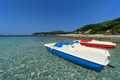 Pedal Boats on Sardinia beach, Italy - PhotoDune Item for Sale