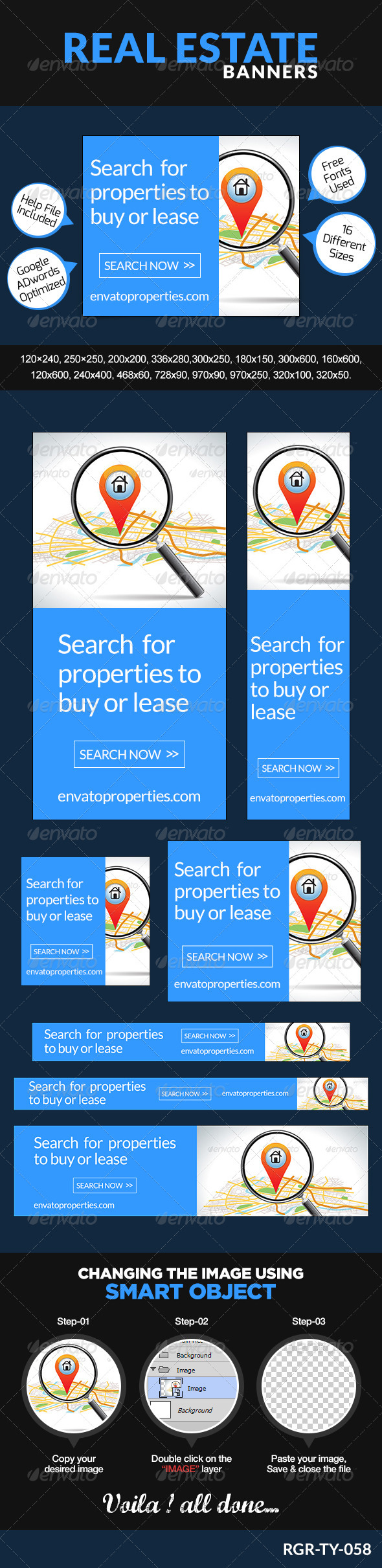 GraphicRiver Real Estate Banners 8488111