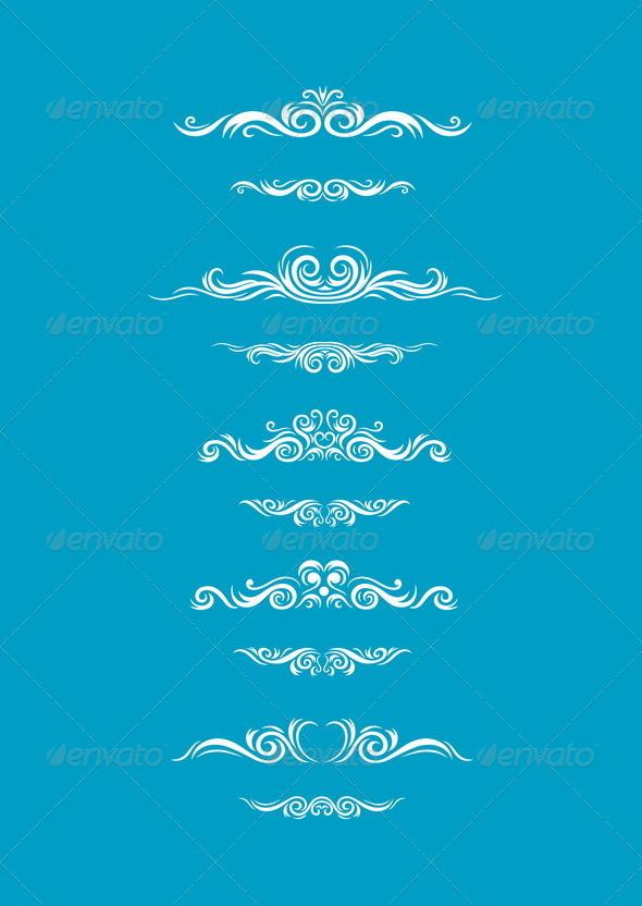GraphicRiver Set Borders Decoration 8488178