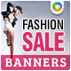 Fashion & Clothing Banners - GraphicRiver Item for Sale