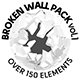 Broken Wall Pack Vol.1 - GraphicRiver Item for Sale