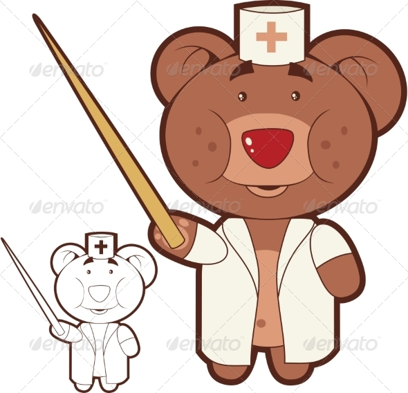 GraphicRiver Bear Doctor 8488398