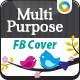 Multi Purpose Facebook Covers - GraphicRiver Item for Sale