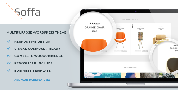 Soffa - Furniture & Bussiness WordPress Theme - WooCommerce eCommerce