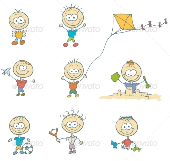 GraphicRiver Children Play 8488427