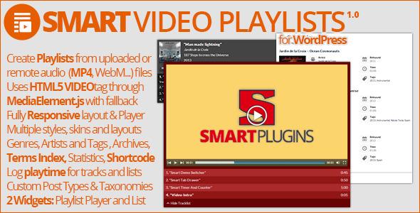 CodeCanyon Smart Video Playlists 8488428