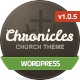 Chronicles - Premium Wordpress Church Theme - ThemeForest Item for Sale