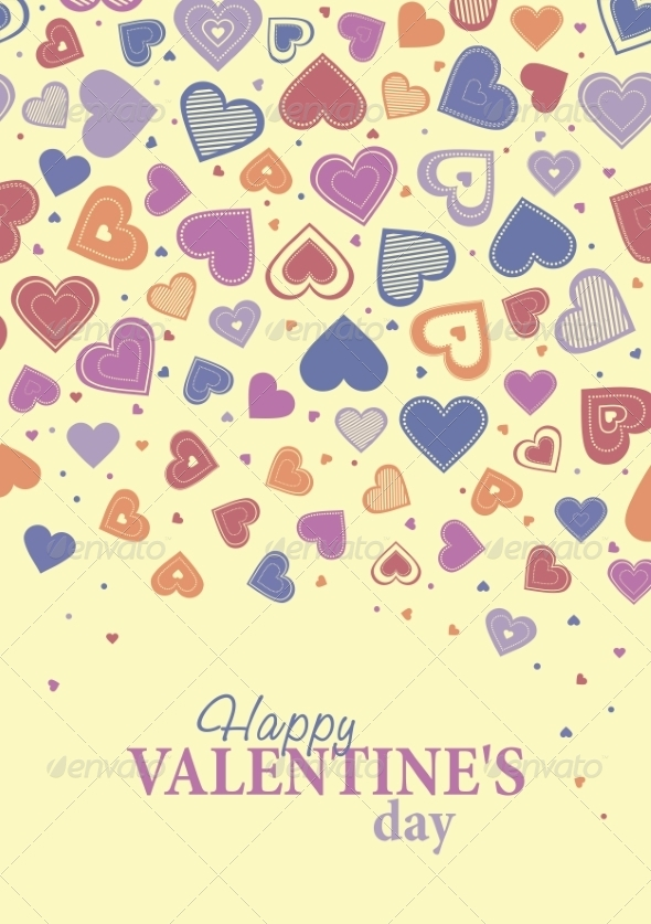 GraphicRiver Happy Valentine s Day Lettering 8488718