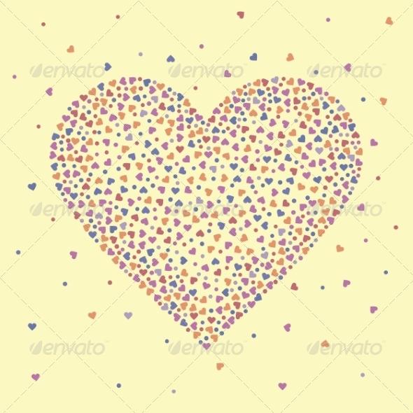 GraphicRiver Happy Valentine s Day Heart 8488760
