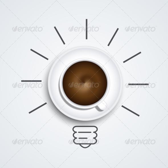 GraphicRiver Idea with Coffee 8488868