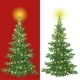 Christmas Tree with Decorations  - GraphicRiver Item for Sale